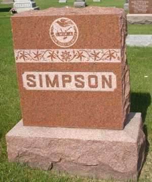 SIMPSON, FAMILY - Clinton County, Iowa | FAMILY SIMPSON