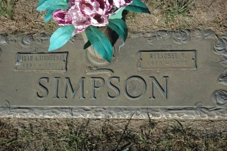 SIMPSON, HERSCHELL W. - Clinton County, Iowa | HERSCHELL W. SIMPSON
