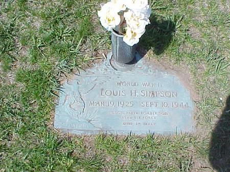SIMPSON, LOUIS H. - Clinton County, Iowa | LOUIS H. SIMPSON