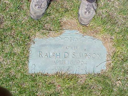 SIMPSON, RALPH D. - Clinton County, Iowa | RALPH D. SIMPSON
