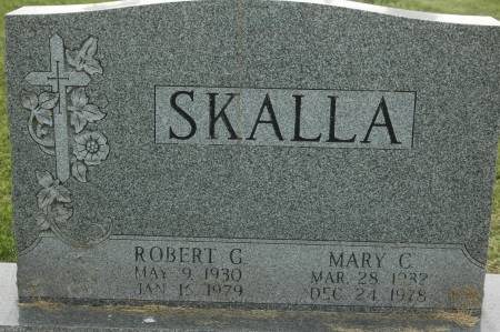 SKALLA, ROBERT G. - Clinton County, Iowa | ROBERT G. SKALLA
