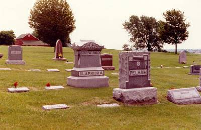 SLAPNICKA AND PELHAM, FAMILY STONES - Clinton County, Iowa | FAMILY STONES SLAPNICKA AND PELHAM