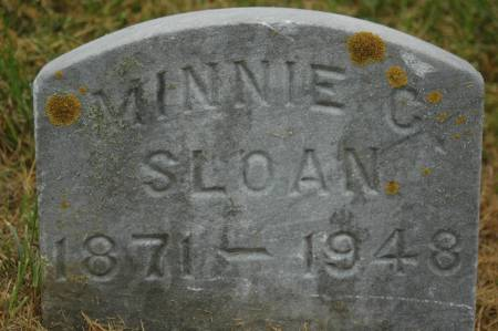 SLOAN, MINNIE C. - Clinton County, Iowa | MINNIE C. SLOAN