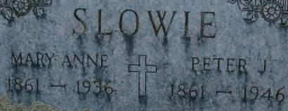 SLOWIE, PETER J. - Clinton County, Iowa | PETER J. SLOWIE