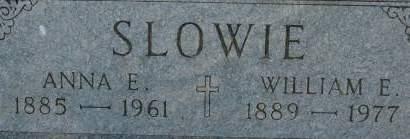 SLOWIE, WILLIAM E. - Clinton County, Iowa | WILLIAM E. SLOWIE