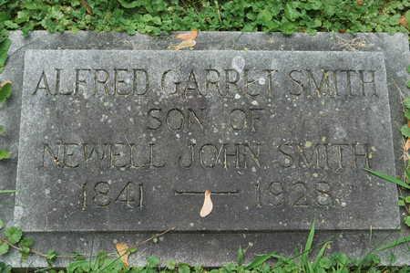 SMITH, ALFRED GARRET - Clinton County, Iowa | ALFRED GARRET SMITH