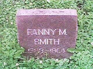SMITH, FANNY M - Clinton County, Iowa | FANNY M SMITH
