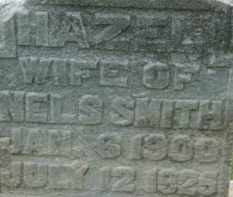 SMITH, HAZEL - Clinton County, Iowa | HAZEL SMITH