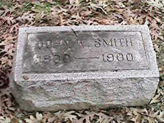SMITH, JOHN W - Clinton County, Iowa   JOHN W SMITH