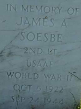 SOESBE, JAMES A. - Clinton County, Iowa | JAMES A. SOESBE
