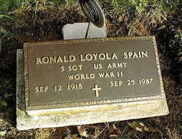 SPAIN, RONALD LOYOLA - Clinton County, Iowa | RONALD LOYOLA SPAIN