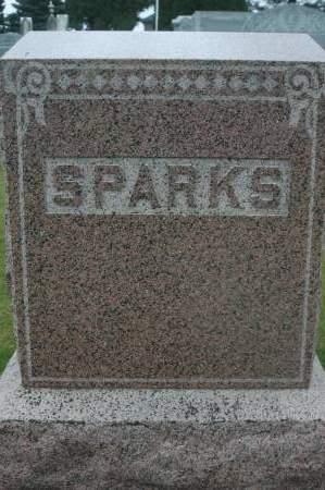SPARKS, FAMILY MONUMENT - Clinton County, Iowa   FAMILY MONUMENT SPARKS