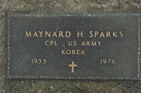 SPARKS, MAYNARD H. - Clinton County, Iowa | MAYNARD H. SPARKS