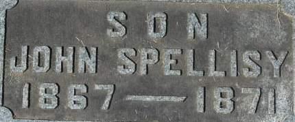 SPELLISY, JOHN - Clinton County, Iowa | JOHN SPELLISY