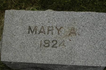 SPELMAN, MARY A. - Clinton County, Iowa   MARY A. SPELMAN