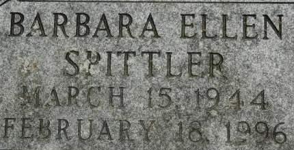 SPITTLER, BARBARA ELLEN - Clinton County, Iowa | BARBARA ELLEN SPITTLER