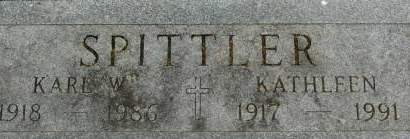 SPITTLER, KARL W. - Clinton County, Iowa | KARL W. SPITTLER