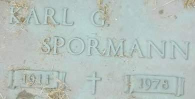 SPORMANN, KARL G. - Clinton County, Iowa | KARL G. SPORMANN