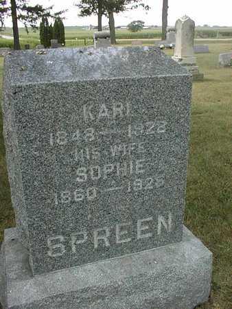 SPREEN, KARL - Clinton County, Iowa | KARL SPREEN