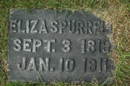 SPURRELL, ELIZA - Clinton County, Iowa   ELIZA SPURRELL