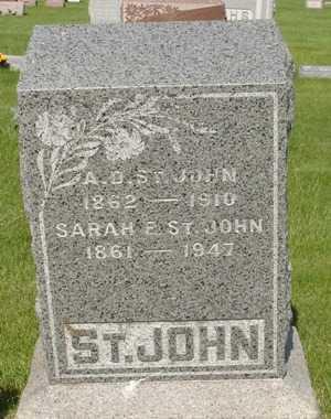 ST. JOHN, A. D. - Clinton County, Iowa | A. D. ST. JOHN