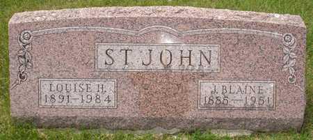 ST. JOHN, LOUISE H. - Clinton County, Iowa | LOUISE H. ST. JOHN
