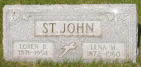 ST. JOHN, LENA - Clinton County, Iowa | LENA ST. JOHN