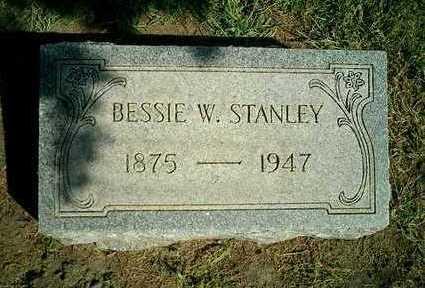 WALTERS STANLEY, BESSIE W. - Clinton County, Iowa | BESSIE W. WALTERS STANLEY