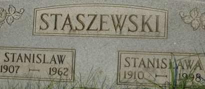 STASZEWSKI, STANISLAW - Clinton County, Iowa   STANISLAW STASZEWSKI