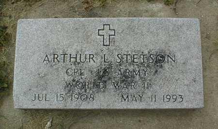 STETSON, ARTHUR L. - Clinton County, Iowa   ARTHUR L. STETSON
