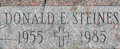 STINES, DONALD E. - Clinton County, Iowa | DONALD E. STINES