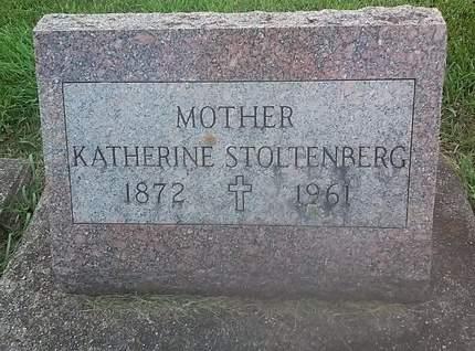 STOLTENBERG, KATHERINE - Clinton County, Iowa | KATHERINE STOLTENBERG