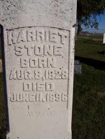STONE, HARRIET - Clinton County, Iowa | HARRIET STONE
