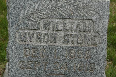 STONE, WILLIAM MYRON - Clinton County, Iowa | WILLIAM MYRON STONE
