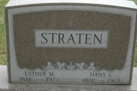 STRATEN, ESTHER M. - Clinton County, Iowa | ESTHER M. STRATEN