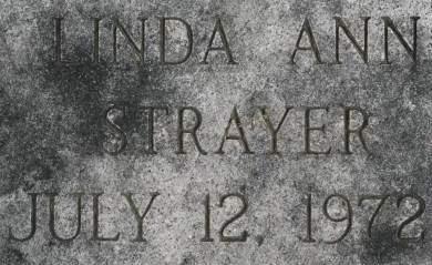 STRAYER, LINDA ANN - Clinton County, Iowa | LINDA ANN STRAYER