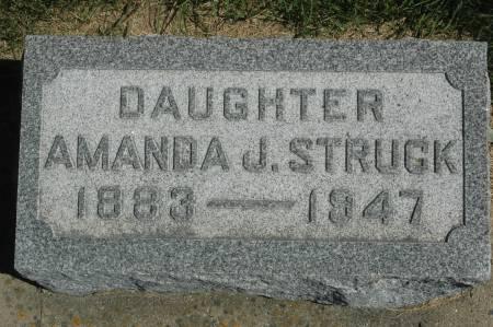 STRUCK, AMANDA J. - Clinton County, Iowa | AMANDA J. STRUCK