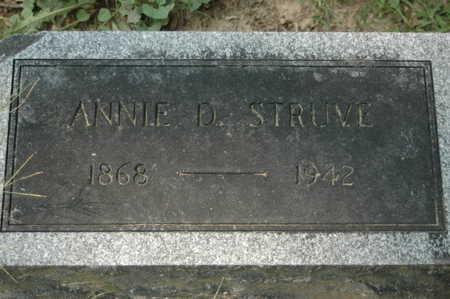 STRUVE, ANNA D. - Clinton County, Iowa | ANNA D. STRUVE