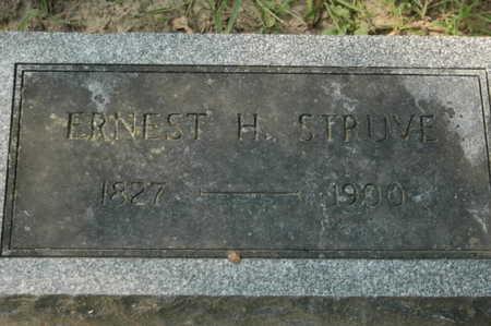 STRUVE, ERNST H. - Clinton County, Iowa   ERNST H. STRUVE