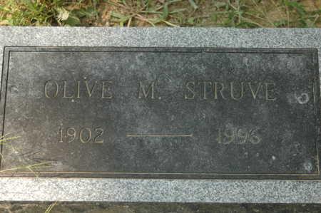 STRUVE, OLIVE M. - Clinton County, Iowa   OLIVE M. STRUVE