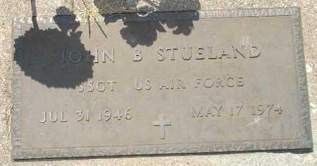 STUELAND, JOHN P. - Clinton County, Iowa   JOHN P. STUELAND