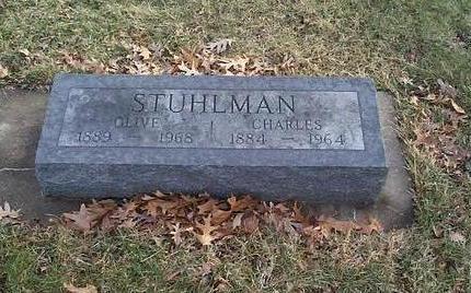 STUHLMAN, CHARLES - Clinton County, Iowa   CHARLES STUHLMAN