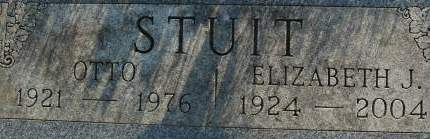 STUIT, ELIZABETH J. - Clinton County, Iowa | ELIZABETH J. STUIT