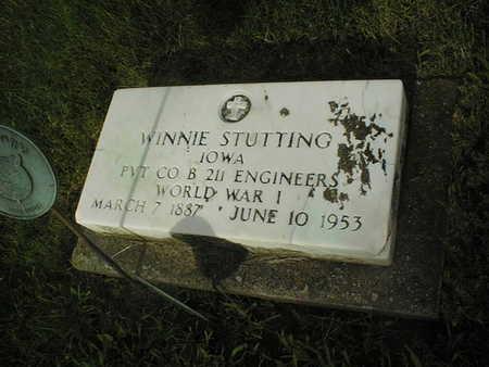 STUTTING, WINNIE - Clinton County, Iowa | WINNIE STUTTING