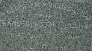SULLIVAN, FRANCES RUTH - Clinton County, Iowa | FRANCES RUTH SULLIVAN
