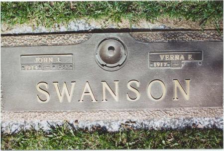 SWANSON, VERNA E. - Clinton County, Iowa   VERNA E. SWANSON
