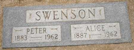 SWENSON, ALICE - Clinton County, Iowa | ALICE SWENSON