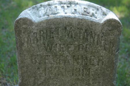 TANNER, HARRIET M. - Clinton County, Iowa | HARRIET M. TANNER