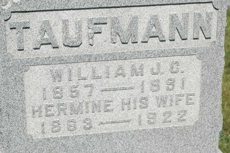 TAUFMANN, HERMINE - Clinton County, Iowa | HERMINE TAUFMANN