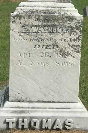 THOMAS, E. W. - Clinton County, Iowa | E. W. THOMAS